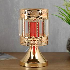 Аромасветильник сенсорный 7050055A/1 3 режима G4 20Вт золото 11,3х11,3х22,5 см