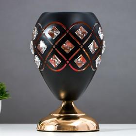 Аромасветильник сенсорный 7050056A/1 3 режима G4 20Вт черный 14,5х14,5х27 см
