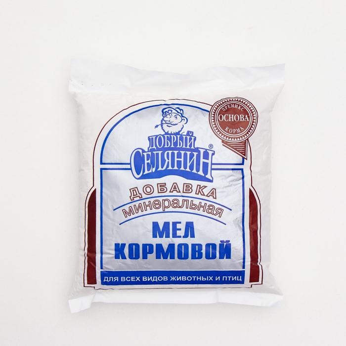 """Мел кормовой """"Добрый селянин"""" 1кг"""