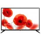 "Телевизор Telefunken TF-LED32S06T2, 32"", 1366x768, DVB-T2, 3xHDMI, 1xUSB, черный"
