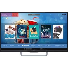 """Телевизор Asano 40LF7030S, 40"""", 1366x768, DVB-T2/S2, 1xHDMI, 1xUSB, SmartTV, чёрный"""