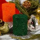 Свеча ароматическая «Рождественская ель», 6×7,6 см