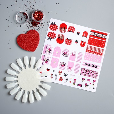 """Set for creativity """"Manicures with Minnie"""", Minnie mouse"""
