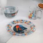 Набор посуды детский «Звездные войны», 3 предмета