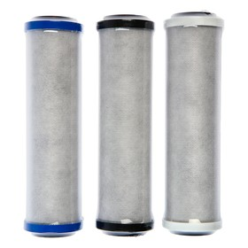 A set of replaceable cartridges for Aquaphor Trio Norma, B510-03-02-07, filtering