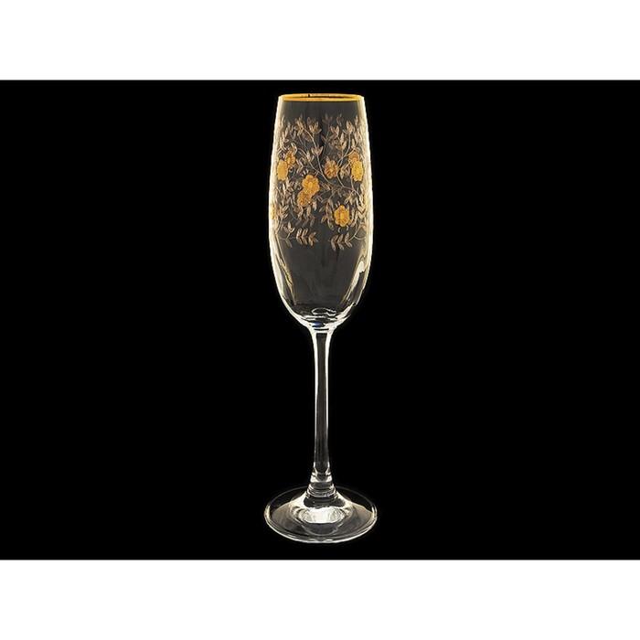 Набор бокалов для шампанского, 6 шт, 180 мл
