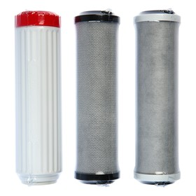 A set of replaceable cartridges for Aquaphor Trio Norma, B510-03-04-07, filtering