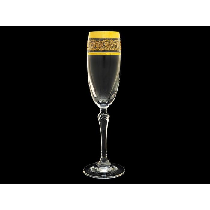 Набор бокалов для шампанского, 6 шт, 160 мл