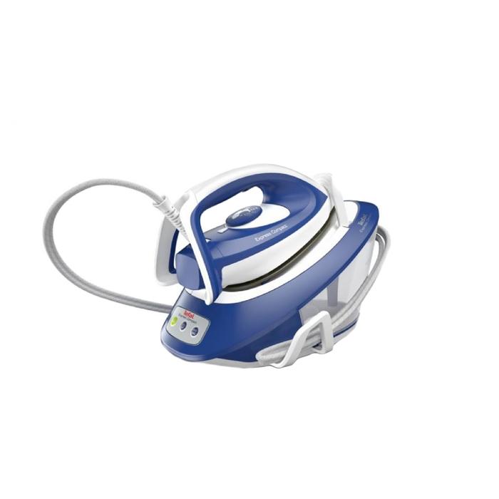 Парогенератор Tefal SV7112, 2600 Вт, паровой удар 360 г/мин, 1.7 л, сине-белый