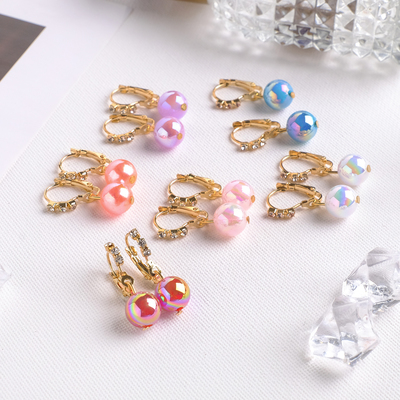 """Earrings assorted """"Ray"""" bead, MIX color"""