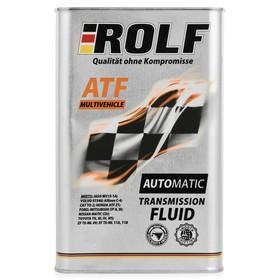 Масло трансмиссионное Rolf, ATF, Multivehicle, 1 л Ош