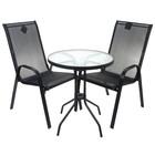 """Набор мебели """"Сан-Ремо Мини"""", в наборе:стол,2 стула, искусственный роттанг"""