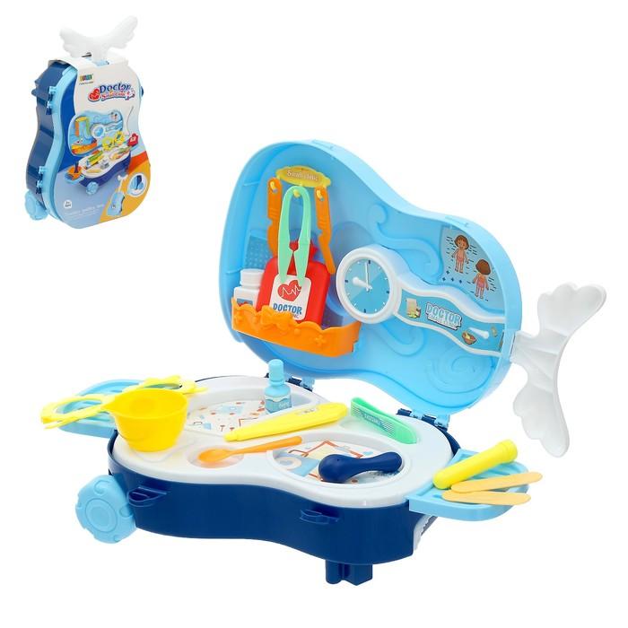 Игровой набор «Лечащий врач», в чемоданчике - фото 105582325