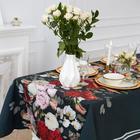 """Скатерть """"Этель"""" Flowers  220х147 см, 100% хлопок, саржа 190 г/м2"""