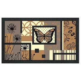 Коврик придверный Format Classic «Бабочка», 40 х 68 см