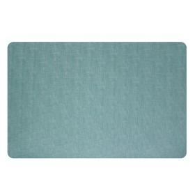 Салфетка Polyline «Амбер», 30 x 43 см, цвет бирюзовый