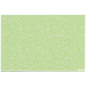 Салфетка TSUTA, размер 30 х 45 см, цвет зелёный