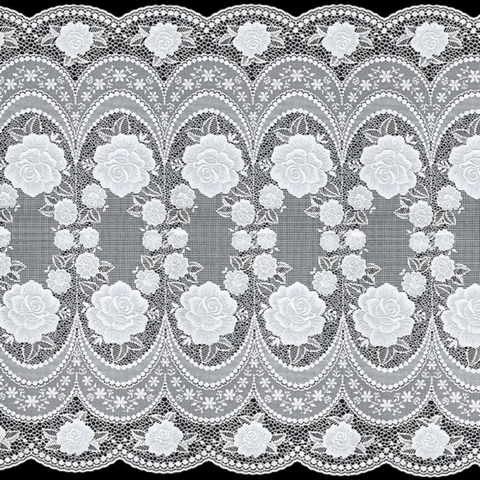 Салфетка «Ажурная», 50 см, рулон 20 пог. м, белая