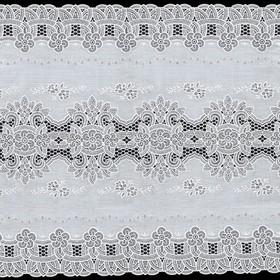 Салфетка «Ажурная», 50 см, рулон 20 пог. м, сепия/бежевая
