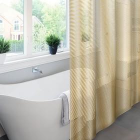Штора для ванной Meiwa Linea, 182 х 182 см