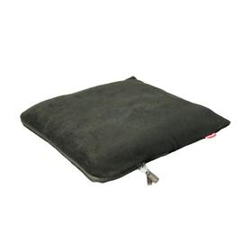 Органайзер-плед автомобильный 42x42 (флис, чёрный), Tbag