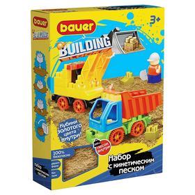 Конструктор Building Kinetic, набор с погрузчиком и грузовиком