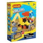 """Конструктор """"Building Kinetic"""", набор с трактором и грузовиком 756"""