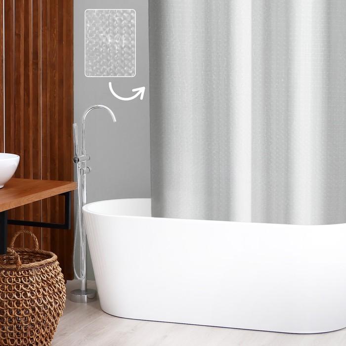 """Штора для ванной """"Классика"""", 3D"""