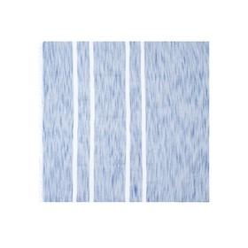 Шарф мужской 80×180 см, синий в Донецке