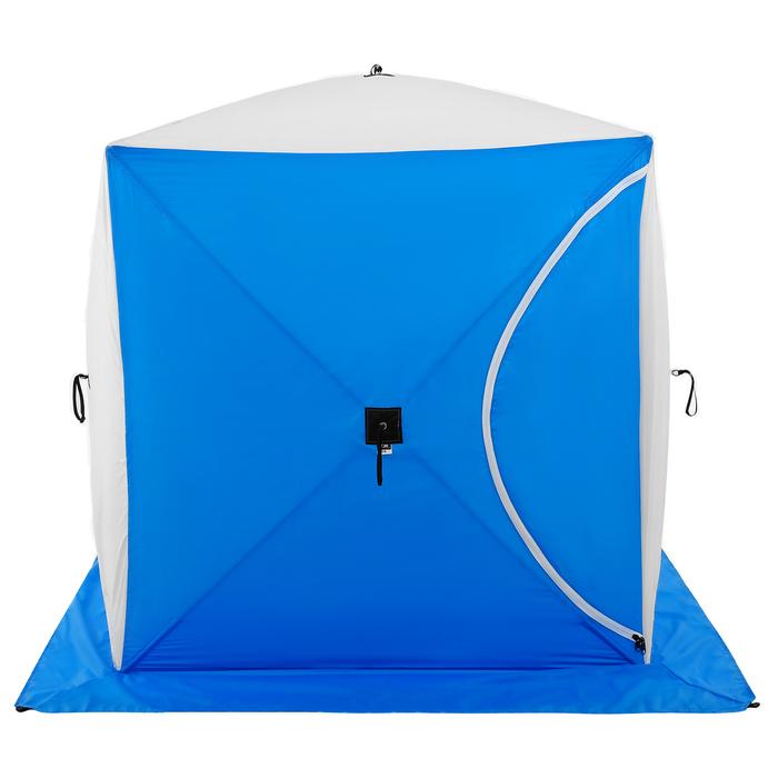 Палатка зимняя «КУБ», 1-местная 3-слойная, дышащая
