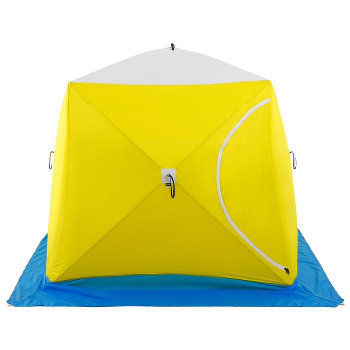 Палатка зимняя «КУБ» Long, 2-местная 3-слойная, дышащая