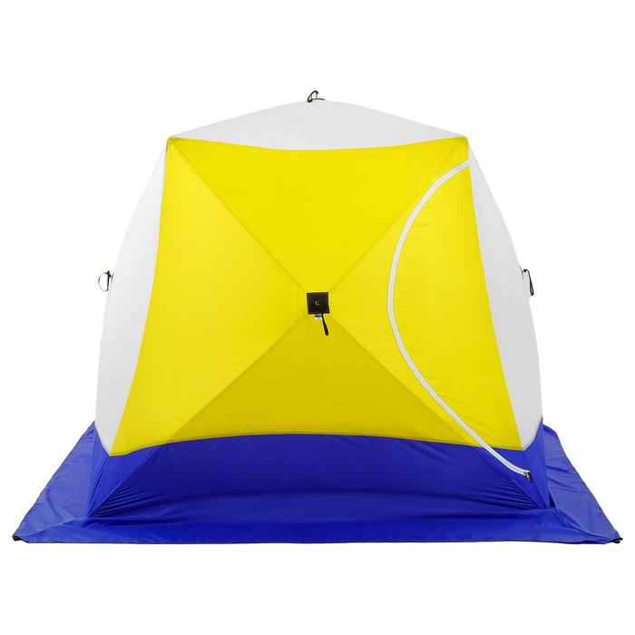 Палатка зимняя «КУБ», 3-местная 3-слойная, дышащая