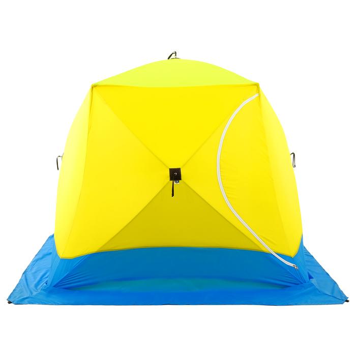Палатка зимняя «КУБ» Long, 3-местная 3-слойная