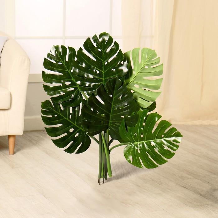 """Дерево искусственное """"Монстера"""" 90 см"""