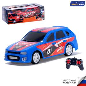 Машина радиоуправляемая «RUS Авто - Sport Car», работает от батареек, цвет синий Ош
