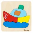 Деревянный пазл «Кораблик»