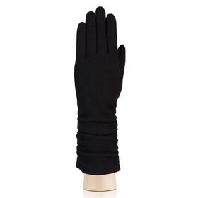 Перчатки женские, размер S, цвет чёрный