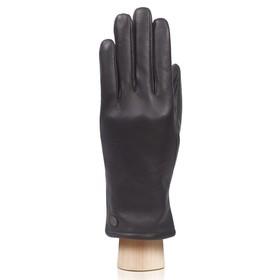 Перчатки женские, размер 6.5, цвет чёрный