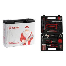 Набор инструментов в кейсе TUNDRA 'С Новым Годом', подарочная упаковка, 31 предмет Ош