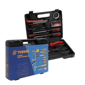 """Набор инструментов в кейсе TUNDRA """"23 Февраля"""", подарочная упаковка, 12 предметов"""