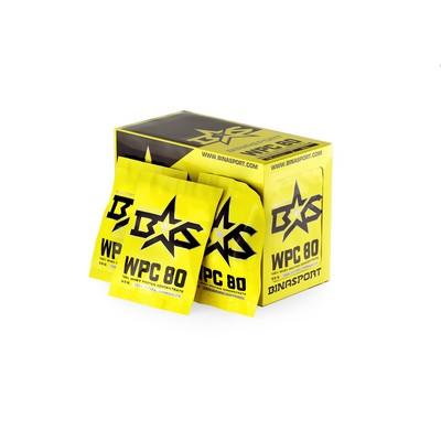 Protein Binasport WPC 80 WHEY PROTEIN 80, vanilla, 33 g (pack of 20 PCs)