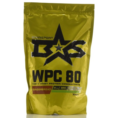 Protein Binasport WPC 80 WHEY PROTEIN 80, gingerbread, 750 g