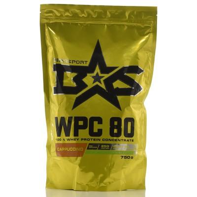 Protein Binasport WPC 80 WHEY PROTEIN 80, cappuccino, 750 g