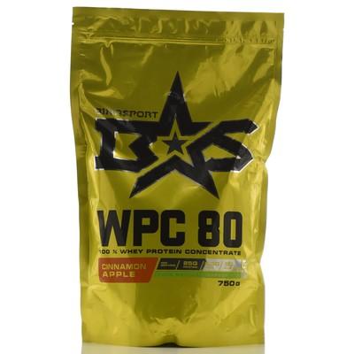 Protein Binasport WPC 80 WHEY PROTEIN 80, Apple-cinnamon, 750 g