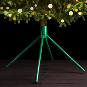 Подставка для ёлки (под ёмкость с водой), диаметр 51 мм, цвет зелёный
