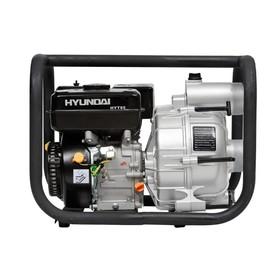 Мотопомпа бензиновая Hyundai HYT 80, 5.2 кВт, 7 л/с, 210 см3, 917 л/мин, для грязной воды