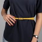 Women's yellow strap