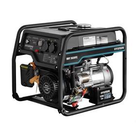 Генератор бензиновый Hyundai HHY 5020FE, 4.5 кВт, 220 В, 340 см3, ручной/электростартер