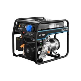 Генератор бензиновый Hyundai HHY 7020F, 5.5 кВт, 220 В, 389 см3, ручной стартер, медь