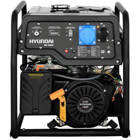 Генератор бензиновый Hyundai HHY 7020FE, 5.5 кВт, 220 В, 389 см3, ручной/электростартер